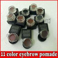 HOT Eyebrow pomade Cream Waterproof Makeup Eyebrow 4g Blonde Chocolate Dark Brown Ebony Auburn Medium Brown eyebrow gel 11 colors