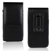 вертикальный клип оптовых-Универсальный кошелек искусственная кожа вертикальная кобура вертикальная крышка сумка с зажимом для ремня чехол для iphone X 8G 7G 6S plus S7 S8 plus