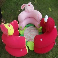 Wholesale plush bedroom carpets for sale - Baby Toy Inflatable Sofa Monkey Rabbit Cartoon Portable Cosy Multi Function Game Mats Blanket Creeping Carpets Creative cs bb
