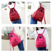 Wholesale string for women accessories - Waterproof Sport Bag Gym Bag Softback Sports Backpacks Women Men Sports Bags Sport Accessories Bag For Gym Fitness Running