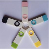 humidificador de computadora al por mayor-10 unids / lote Mini Hogar u Oficina Ordenador USB Aroma Difusor SPA Aromaterapia Purificador de Aire Ambientador Humidificador Con Cuentagotas