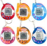 digitale haustiere großhandel-Tamagochi Virtual Digital Elektronische Haustier-Spiel-Maschine Tamagochi Game Handheld Mini Lustige virtuelle Haustier-Maschine Mischfarbe