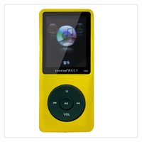 Wholesale 1 Inch Screen Lossless HIFI MP3 Music Player FM Recording Pen Sports Walkman Black Pink Green Blue Yellow