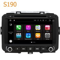 Wholesale radio tuner pc - Road Top S190 Android 7.1 System Quad Core CPU 2 Din Car Radio DVD Player GPS Navigation Head Unit Car PC for Kia Carens Rondo 2013 - 2016