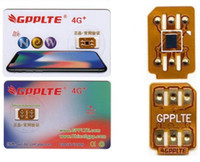 Wholesale gpp pro - Newest GPPLTE PRO 3 Unlock sprint JAPAN AU softbank iPhone8P ios11.1.2 7 6S 6 5S Plus + LTE GPP Unlocking Sim pro r sim12