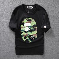 Wholesale animal print t shirts for men for sale – custom T Shirt New Designer Tops T Shirts for Men Shirt Couple Sport Tide Brand Clothing Tshirt Hip Hop Skateboard T shirt Women Clothing M XL