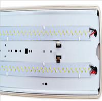levou 4ft tubo luzes preço venda por atacado-100-277V 100W 130lm / W LED Tri-Proof Luz Batten Tubo à prova de explosão de vapor Luzes apertadas Substituir fluorescente luminária de teto
