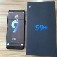 Wholesale Unlocked Quad - 6.2inch S9+ S9 plus 5.5inch S8+ S8 plus Quad Core Android 6.0 1GB 4GB Show fake 4GB RAM 64GB ROM Fake 4G LTE Unlocked Smartphone Cell Phone