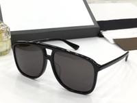 Wholesale fiber square resale online - Luxury S Sunglasses For Men Design Fashion Sunglasses Wrap Popular Sunglass Full Frame Coating Lens Carbon Fiber Legs Summer Style