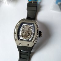 relógios de esporte venda por atacado-Venda quente dos homens do esporte relógio top marca relógios de luxo de qualidade automática relógio de pulso automático pulseira de borracha preta 016