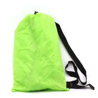Wholesale Travel Cots - Lazy Bag Sleeping Bag Fast inflatable hammock Camping Air Sofa Sleeping Beach Bed Banana Lounge Bag Air Bed Lounger