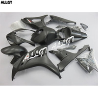 carenados de moto negro mate al por mayor-ABS Matte Black Painted Motorcycle Fairings kit Parte de la carrocería para HONDA CBR1000RR 2006 2007 06 07