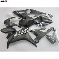 ingrosso parti di carena motociclistica honda-Kit carenature moto verniciato nero opaco ABS per carrozzeria HONDA CBR1000RR 2006 2007 06 07