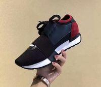 Wholesale Comfortable Mens Black Dress Shoes - BALFNCIAGA Designer Luxury Brand Man Casual Shoes Mens Womens Fashion New Style Mesh Upper Womens Dress Shoe Comfortable Running Sports