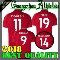 Wholesale Elite S - Black Elite soccer Jersey 2018 2019 Home away Football Shirts COUTINHO LALLANA FIRMINO Lucas M.SALAH MANE Sturridge shirts Football Jersey