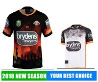 Wholesale cheap birthday shirts - West Tigers 2018 AIG Super Rugby shirts Sport free shipping Wholesale Cheap Shirt promotion present birthday gift jerseys