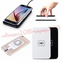 cargador qi transmisor inalámbrico al por mayor-30 unids Qi cargador de carga inalámbrico estándar transmisor Pad para Samsung Galaxy S3 S4 S5 S6 S7 Nota 2 3 4 para iPhone 5 6 6 más 7 más
