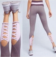 Wholesale plus size crop leggings for sale - Group buy Women High Waist Skinny Sexy Running Jogging Leggings Pants Crop Outdoor Gear Comfortable Plus Size Clothing CCA8432
