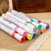 Wholesale car paintings - Paint Pen For Car Tires Permanent and Waterproof Carwash Safe Tire Marker Pen Permanent Paint Car Tire Pens Universal Waterproof