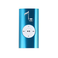 Wholesale mini metal clip sport mp3 player online - overmal Newest Mini Metal USB Clip Digital Mp3 Music Player Support GB SD TF Card Sport Compact design best Christmas gift
