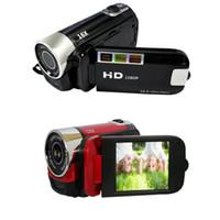 carte enregistreur numérique sd achat en gros de-16 X Zoom numérique Full HD 16MP 1080P Appareil photo numérique DSLR Caméscope Enregistreur DVR Prise en charge de 32 Go de carte SD