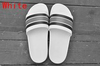 Wholesale fall fashion collection - Luxury Designer Slippers Fashion flip Flops Top Quality Red Green Stripe Summer Huaraches slippers flip Flops New Collection