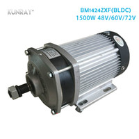 Wholesale motor car parts for sale - Group buy BM1424ZXF W DC V Brushless Motor For E Tricycle Quad Car Light E Car Electric Bicycle Motor Part Big Power Gear Decelerate