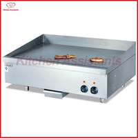 Wholesale commercial plate - EG24 electric commercial griddle grill for pancakes plate machine