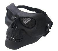 equipo de campo al por mayor-Máscara de pistola de agua M02 CS real máscara de campo de protección táctica equipo ventilador del ejército máscara de ceniza de plata