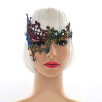 Wholesale halloween catwoman mask - Sexy Lace Princess Mask Catwoman Halloween Mask for Halloween Christmas Wedding Ball 5 Colors Free Shipping