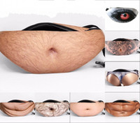 Wholesale Beer Belly Belt - Popular Dad bod Crossbody Waist Bags Universal anti-theft invisible Beer Fat Belly Pack Fanny Bags Creative belt bag