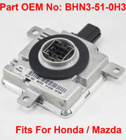 Wholesale mazda car parts resale online - 1PCS V W D4S D4R OEM HID Xenon Headlight Ballast Computer Control Unit Car Vehicle OEM Part Number BHN3 H3 Fits For Honda Mazda