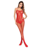 Wholesale sexy pant sex for sale - Group buy Sexy underwear Explosive Sex Stockings pack adult products erotic underwear red bow lure Siamese pants Lady