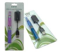 ingrosso caricabatterie multifunzione per sigarette-Ego-t Ce4 Blister kit singoli e cig 650mAh 900mAh 1100mAh Ego batteria USB Charger Ce4 atomizzatore vaporizzatore E sigaretta Vape Pen Starter Kit