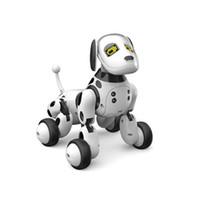 animais robô venda por atacado-Nova DIMEI 9007A Inteligente Robô RC Brinquedo Do Cão de Controle Remoto Cão Inteligente Crianças Brinquedos Animal Bonito Robô RC Presentes Para As Crianças de Aniversário