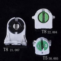 douilles t5 achat en gros de-T4 T5 lampe de base T8 Lampe fluorescente Porte-vieillissement Test affichage lumière Types douille pour lampe Grille