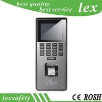 Wholesale Rfid Timing Systems - Wiegand26 34 id rfid card fingerprint Time Attendance Terminal,access keypad Electric Attendance machine for Security system