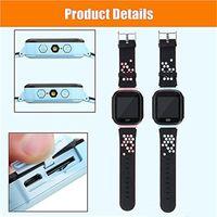blitzlichtuhr großhandel-Nette Sport Q528 Kinder Tracker Smart Watch mit Blitzlicht Touchscreen SOS Anruf LBS Location Finder für kind Kind PK Q50 GPS tracker 30 stücke