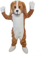 köpek kostüm çocuğu toptan satış-2018 Yüksek kalite beagle maskot kostüm yetişkin boyutu fabrika özel köpek maskot kostüm