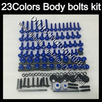 Wholesale 94 ninja plastics for sale - Group buy Fairing bolts full screw kit For KAWASAKI NINJA ZX11R ZX R ZX11 ZZR1100 Body Nuts screws nut bolt kit Colors