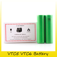 mod de caja usada al por mayor-Batería de calidad superior VTC6 VTC5 3000mAh 2600mAh 3.7V 30A Li-ion 18650 Baterías recargables que utilizan para Mods Ecig Box