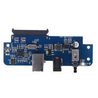 adaptador para elevador al por mayor-Al por mayor-USB 3.0 a SATA Converter Adapter Card para 2.5 pulgadas / 3.5 pulgadas HDD Extender Riser Card Adapter de alta calidad