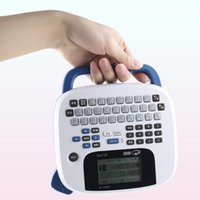 Wholesale Printer Office - 2016 new JC-114 handheld portable labeling machine home office notes barcode label printer built