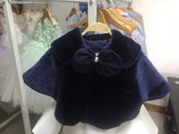 ingrosso fabbriche vendono abiti-2016 Best Choice Qualità Baby Vest Girl Coat Baby-girl Bolero Little Girl Clothes Prezzo di vendita diretta Custom Made