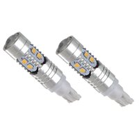 Wholesale High Power Drl - Car Lights Signal Lamp 2pcs! Super White 921 T10 DRL LED Car Light Bulb Projector Lens High Power 11W 6000K Auto Back