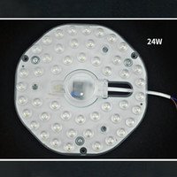 Wholesale high touch surfaces - 24W LED module High brightness 48pcs SMD2835 LED ceiling lamp board home lighting for foyer bedroom etc