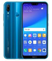 huawei octa phone оптовых-Huawei P20 Lite Nova 3e глобальная прошивка Octa Core 64GB / 128GB 5.84 inch двойная камера заднего вида 24MP Android 8.0 разблокированный мобильный телефон