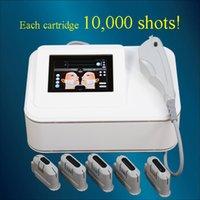 yüz yüze ultrason toptan satış-HIFU yüz germe yüksek yoğunluklu odaklı ultrason hifu makinesi cilt sıkılaştırma kırışıklık kaldırma salon ev kullanımı makine