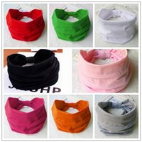 Wholesale Wide Elastic Headbands Wholesale - 8 Colors Women Wide Sports Yoga Headband Stretch Hairband Elastic Hair Band Turban Hair Band Hair Accessory CCA9084 30pcs