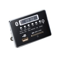 Wholesale hands free mp3 player online - Bluetooth Hands free MP3 Decoder Board Module Car USB MP3 Player Integrated Remote Control USB FM Aux Radio for Car